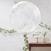 3 Märchenhochzeit XL Ballons 91cm