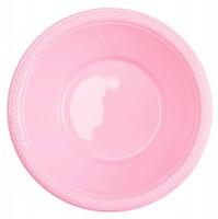 20 Plastikschüsseln Mila hellrosa 355ml