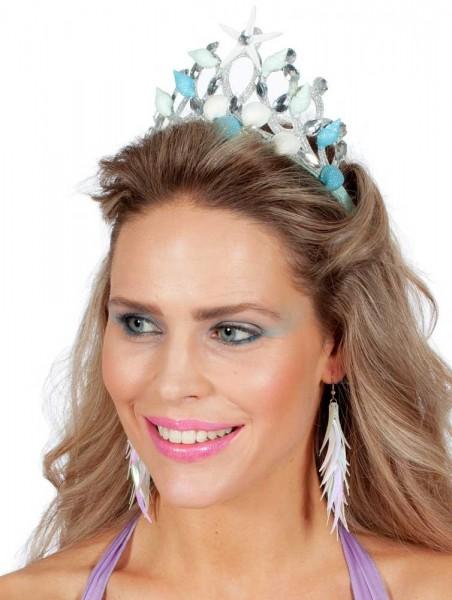 Königin von Atlantis Muschel Krone