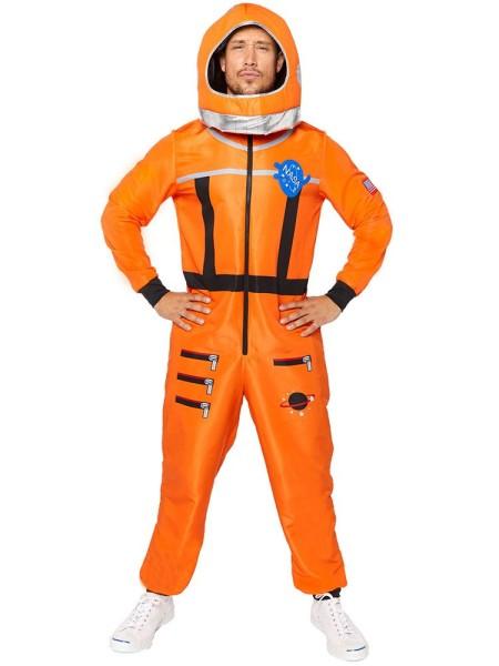 Weltraum Astronaut Herrenkostüm orange