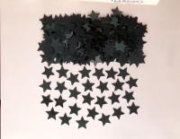 Sternen Streudeko Stella schwarz 14g