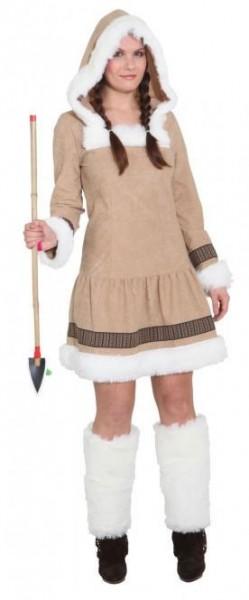 Déguisement femme inuit