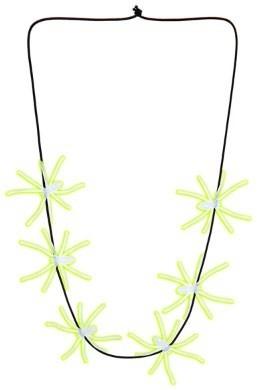 Ketting spinnen neon 60cm