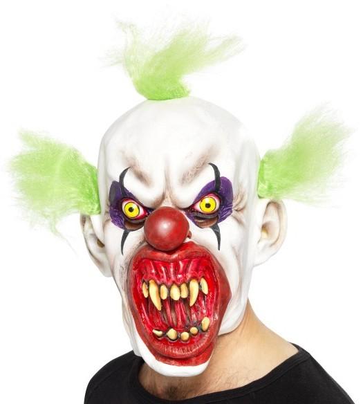 Waanzinnig horror clown masker