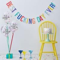Naughty Birthday Fucking Day Partyset