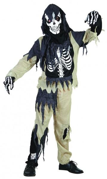 Piccolo costume Eroding per bambini zombi