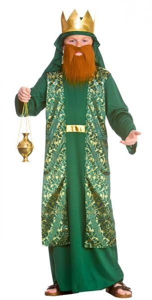 Weiser Mann Krippenspiel Kostüm grün
