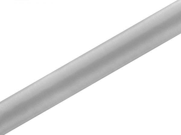 Tela satinada Eloise plata 9m x 36cm