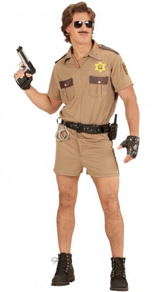 Kalifornisches Polizei Herrenkostüm