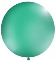 XXL Ballon Partygigant türkis 1m