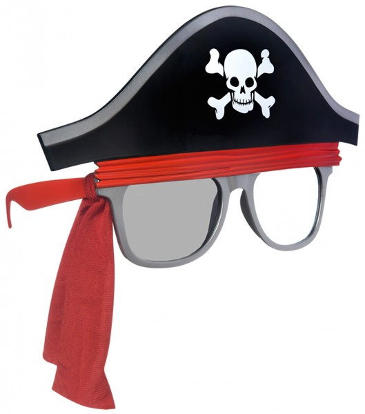 Lunettes de Pirate Captain Old Stinkalot