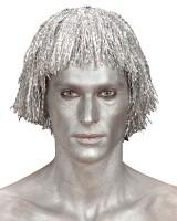 Silberne Make-Up Creme Für Körper Und Gesicht