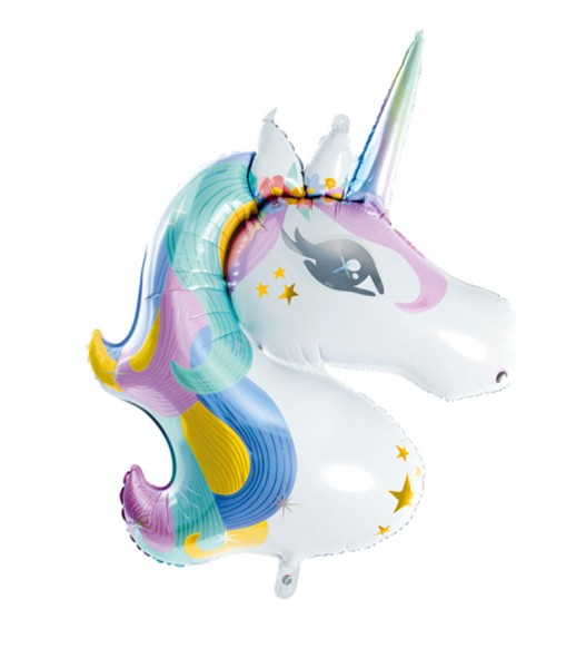 Foil balloon party unicorn 90cm