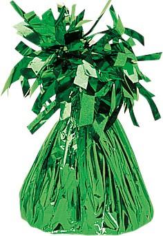 Poids ballon cône frangé vert