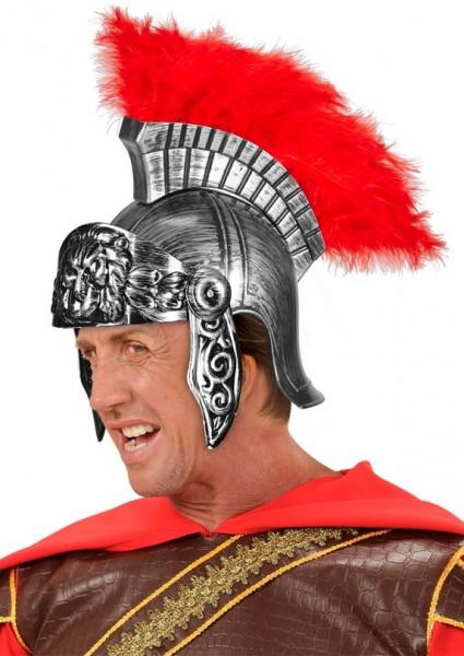 Griechischer & römischer Kriegerhelm In Silber