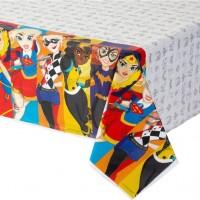 8 DC Super Hero Girls Tischdecke 2,4m x 1,4m