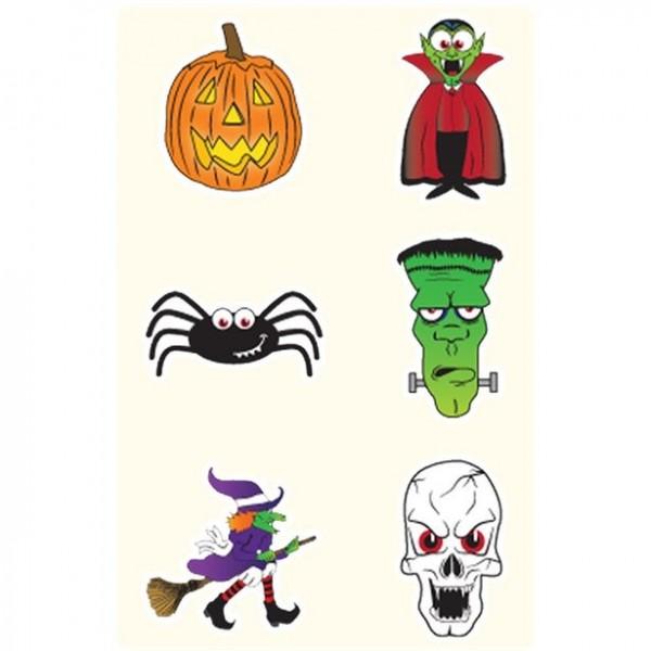 Halloween Tattoos für Kinder