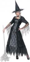 Halloween Kostüm Hexe Spinnennetz Schick