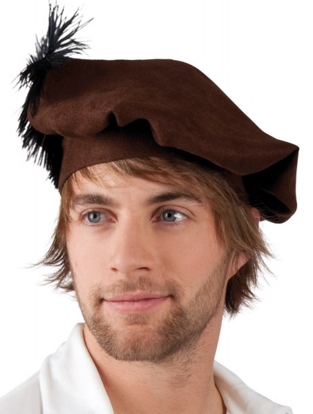 Barett Mütze Mittelalter