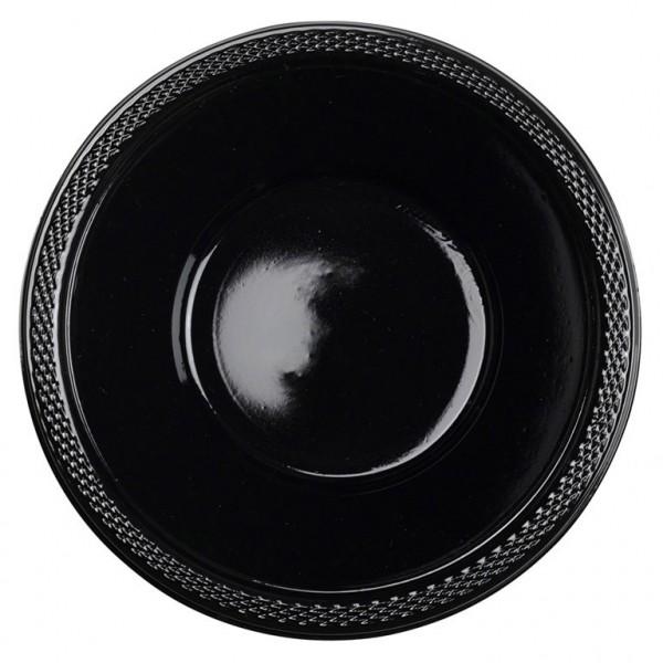 10 Party Buffet Schüsseln schwarz 355ml