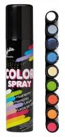 Farbiges Haarspray Grün 100ml