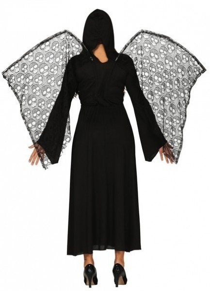 Düsterer Todesengel Kostüm für Damen