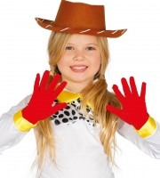 Rote Kinderhandschuhe Leo
