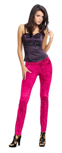 Spijkerbroek Neon Pink Gr. 36-38