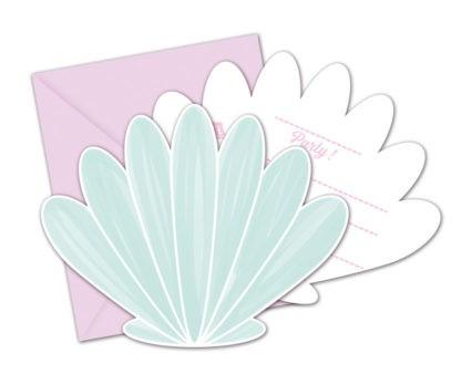 6 Unterwasserwelt Einladungskarten
