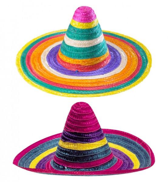Bunter Multicolor Sombrero Pablo