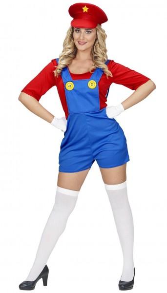 Sexy Klempner Chrissy Kostüm
