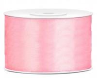 25m Satin Geschenkband hellrosa 38mm breit