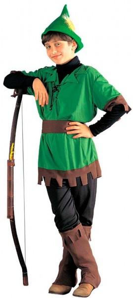 Bögenschützen Junge Robin Kostüm