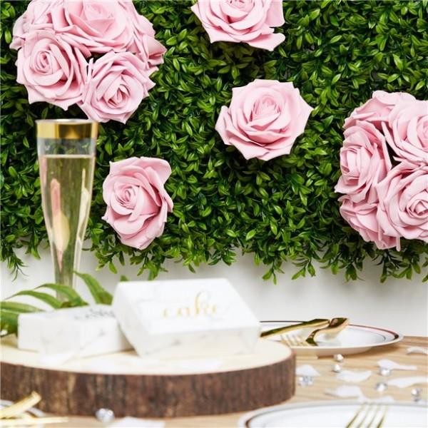 5 Rosen-Bouquets rosa