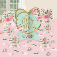 Miss to Mrs Tischaufsteller 27-teilig
