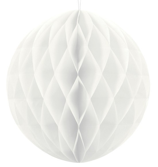 Honeycomb ball Lumina white 40cm