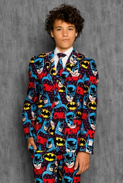 OppoSuits Anzug Teen Boys Dark Knight
