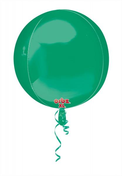 Ball balloon dark green