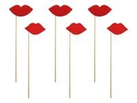 6 Kiss me Fotorequisiten 24cm