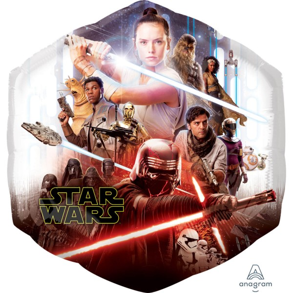 Star Wars Skywalker Rise Ballon 55 x 58cm