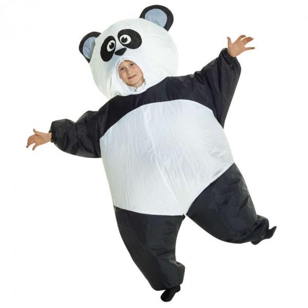 Riesen Panda Kinderkostüm aufblasbar