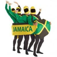 Jamaikanischer Bob Schlitten