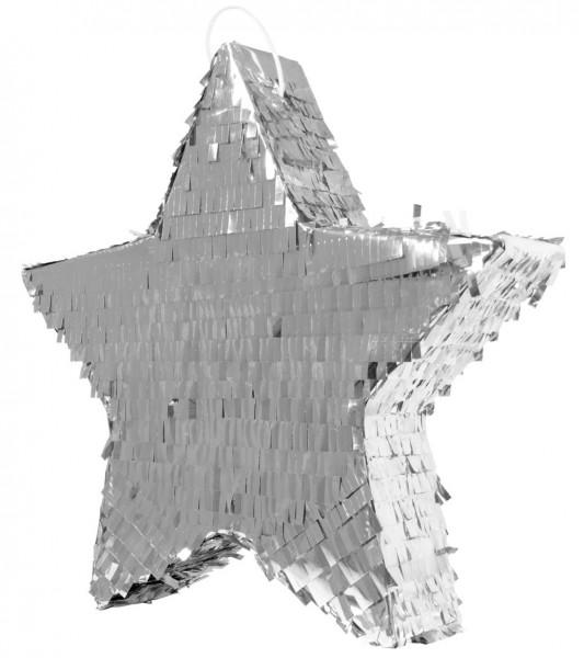 Pinata silberner Stern 45cm 1