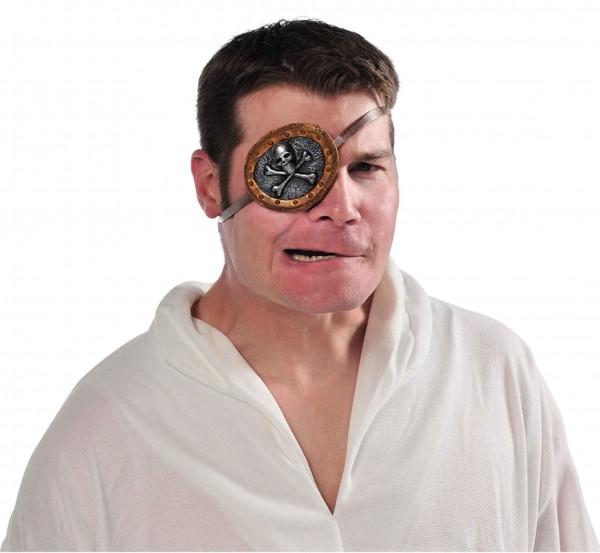 Totenkopf Augenklappe