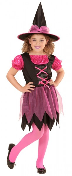 Sweet Witch Matilda Kids Costume Pink