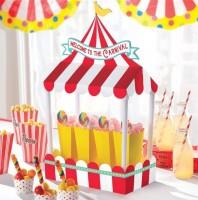 Zirkus Festival Tischdeko 21 x 18cm