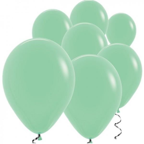 100 ballons vert menthe Rumba 12,7cm