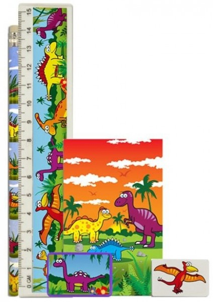 Dinosaur writing set 5 pieces