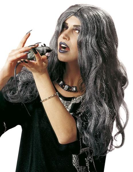 Graue Gothic Perücke Damen
