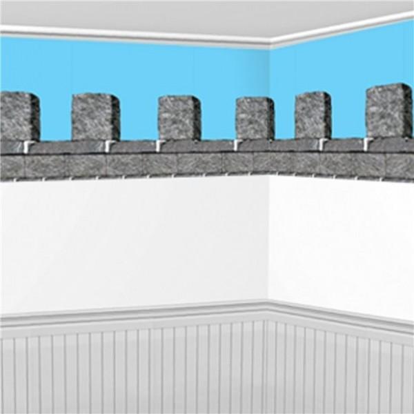 Burgmauer Wandkulisse 9,1m